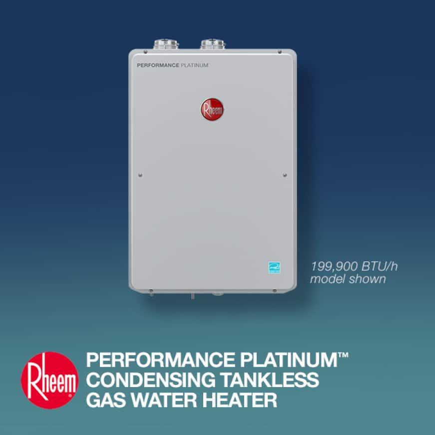 High Efficiency Indoor Tankless Gas Water Heater