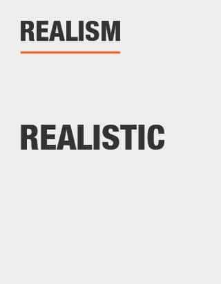 Realism of Tree