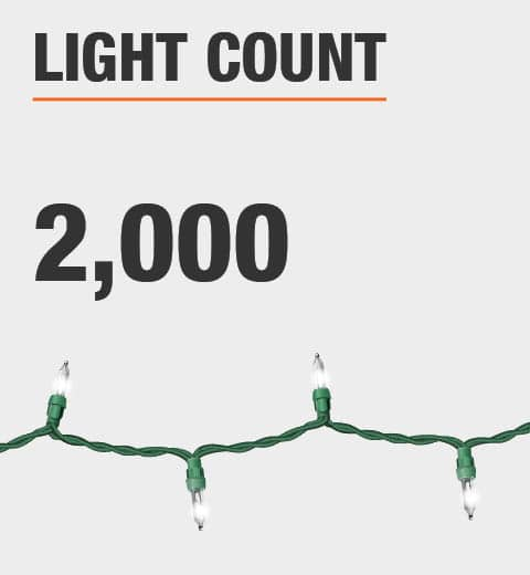 The light count is 2000