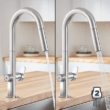 Beale MeasureFill Touch Kitchen Faucet