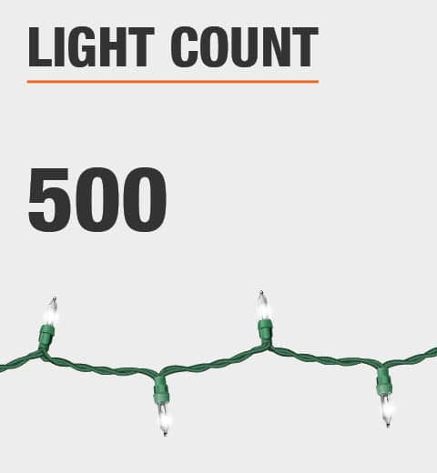 The light count is 500