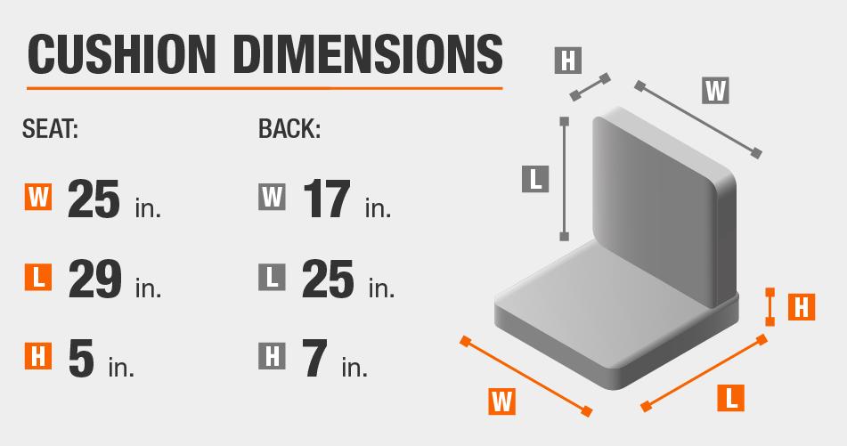 Cushion Dimensions
