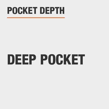 Pocket Depth Deep Pocket