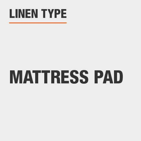 Linen Type Mattress Pad