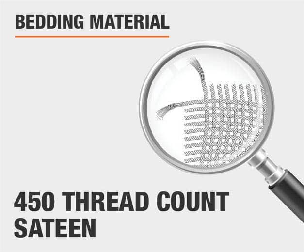 450 Thread Count Sateen