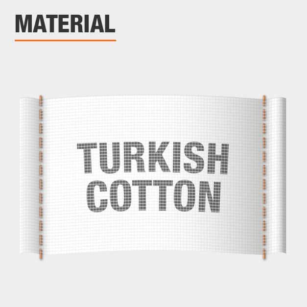 Material Turkish Cotton