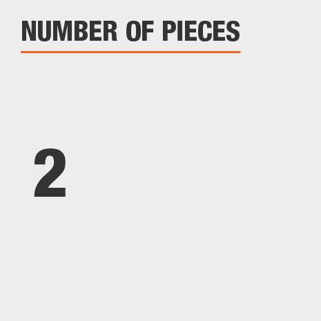 Number of Pieces 2