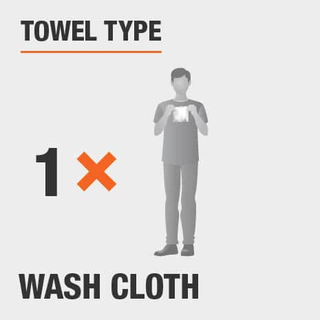 Towel Type Wash Cloth