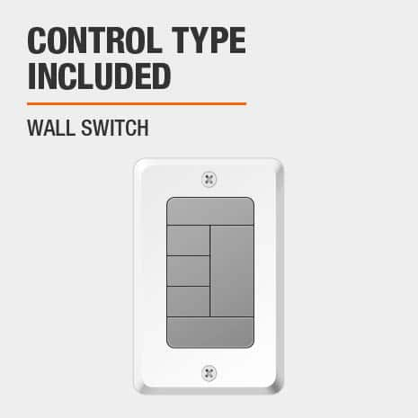 Ceiling Fan with Wall Switch