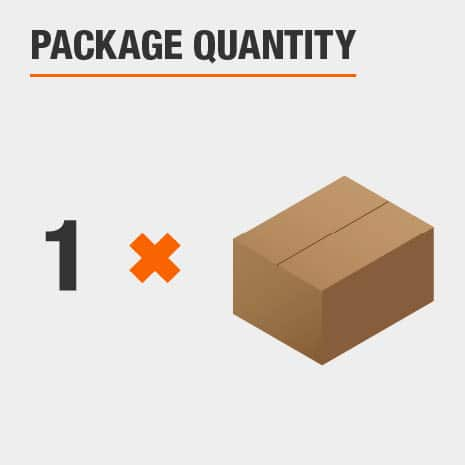 There is 1 light included in the package.