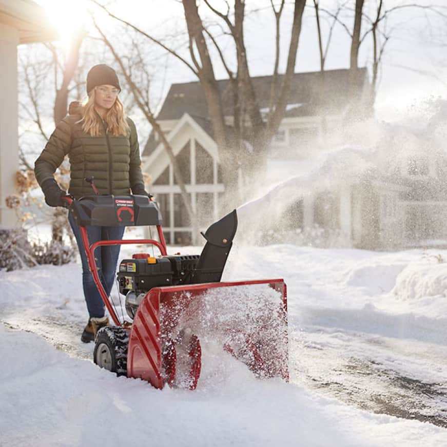 snow blower, snow thrower, clearing system, Troy-Bilt