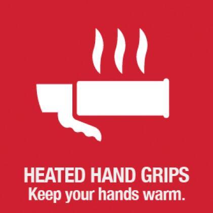snow blower, snow thrower, heated hand grips, Troy-Bilt
