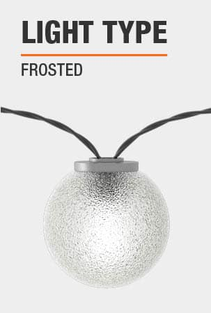 This light is Frosted.
