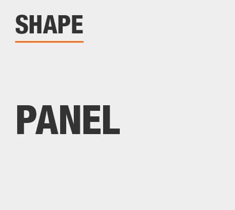Product Shape: Panel