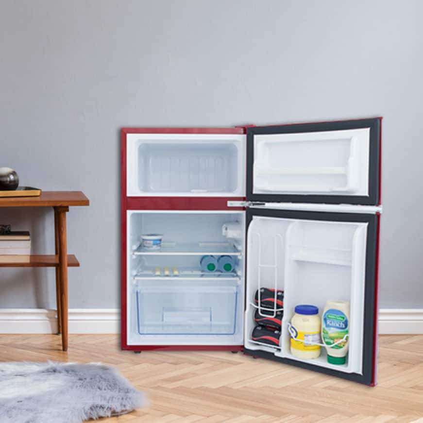 Well-designed interior allows for ample storage options