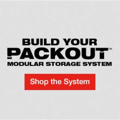 Build your PACKOUT™ Modular Storage System