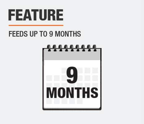 Feeds Up To 9 Months