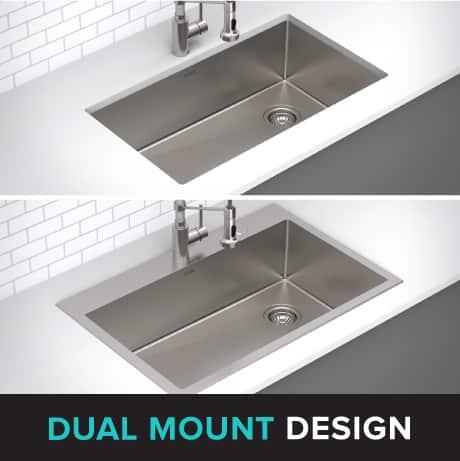 DUAL MOUNT DESIGN