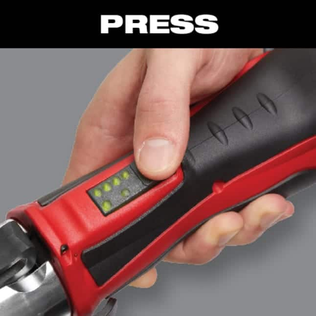 Auto-cycle ensures full press every time