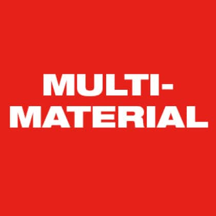 Cuts Plastics, Metals, Wood
