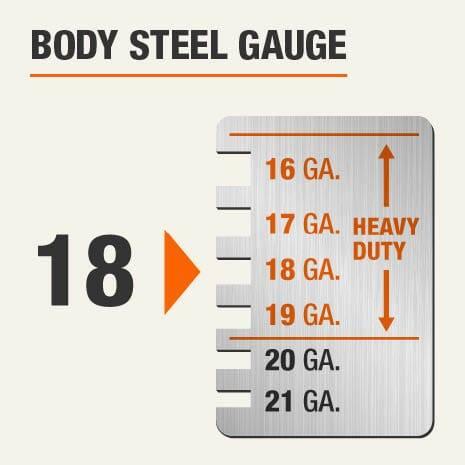 Body Steel Gauge of 18