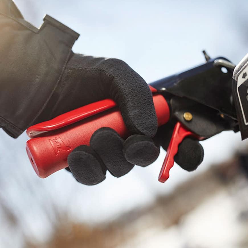 snow blower, snow thrower, power steering, heated hand grips, track drive, Troy-Bilt