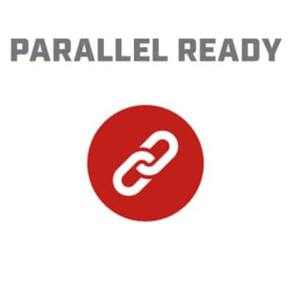 Icon image of a chain link showing Parallel Ready