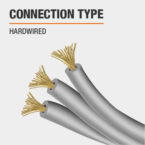 This light's connection type is Hardwired.