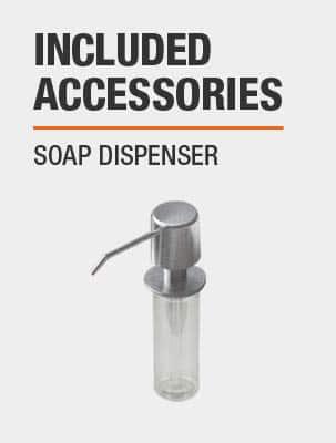 Sink Includes Soap Dispenser