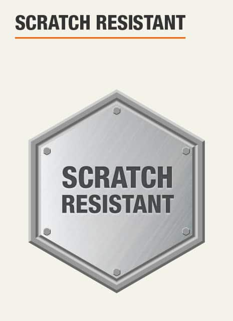 Garage Storage System is scratch resistant