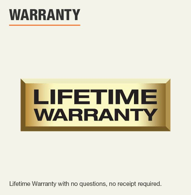 Husky Limited Lifetime Warranty