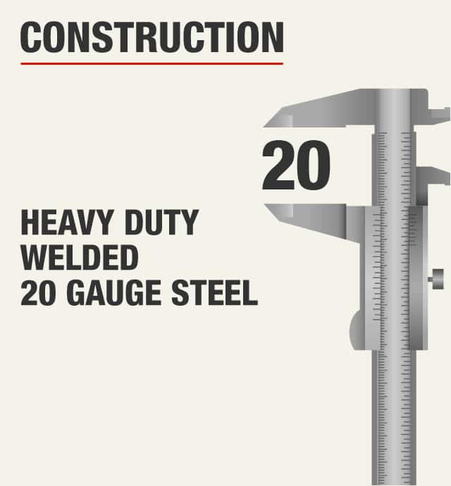 Husky Heavy Duty Welded Gauge Steel Garage Cabinets