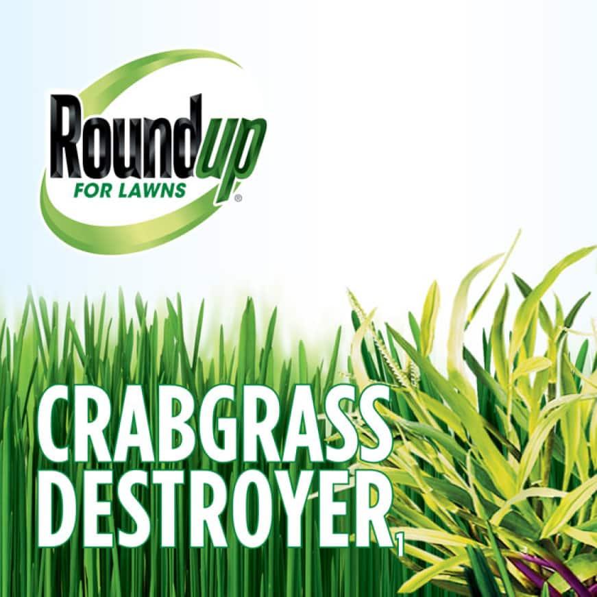 RoundUp Crabgrass Destroyer