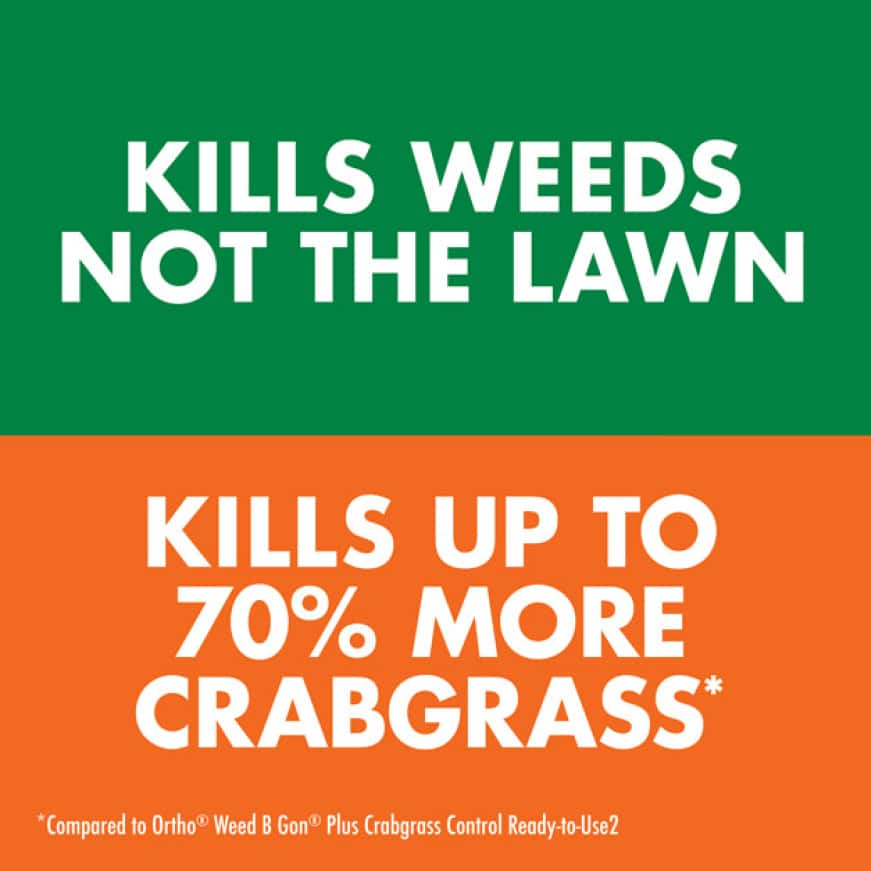 Kills Weeds Not The Lawn