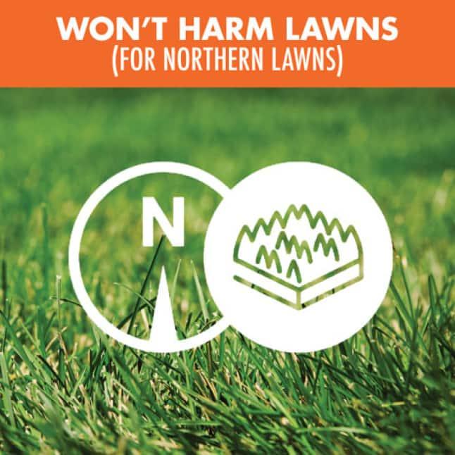 Won't Harm Lawns
