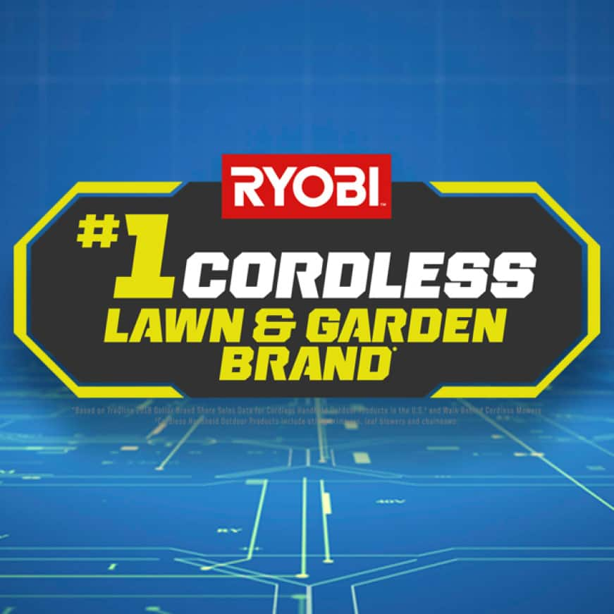 See why RYOBI is the #1 Cordless Lawn and Garden Brand