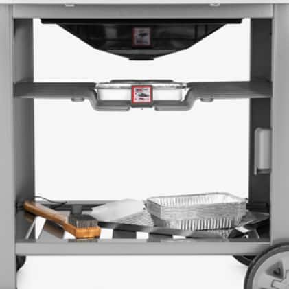 Provides maximum accessibility to grilling tools