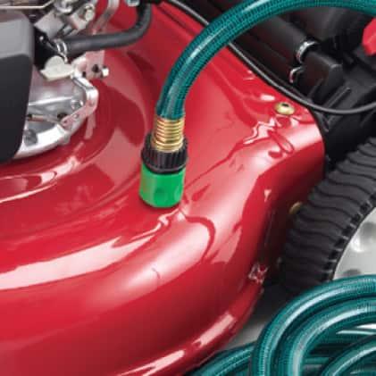 Troy-Bilt gas walk behind mower, push mower, lawn mower, deck maintenance