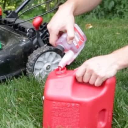 Troy-Bilt gas walk behind mower, push mower, lawn mower, protection