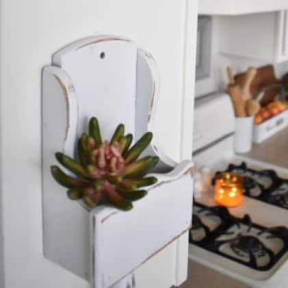 Add a unique touch to kitchens, dining rooms, entryways and anywhere else