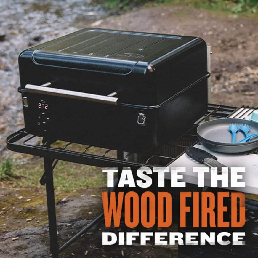 Traeger Grills - Taste The Wood Fired Difference - Ranger