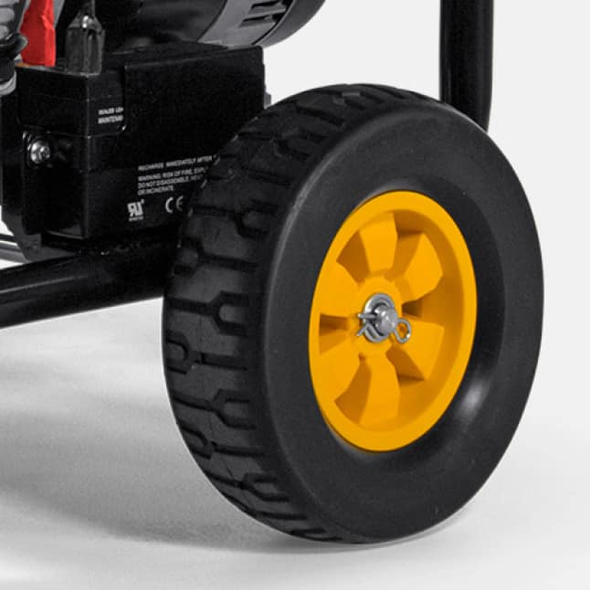 Never-Flat, Durable Wheels