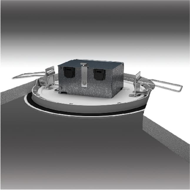 HALO SMD-DM has a canless installation. Simply cut a hole, wire, and mount.