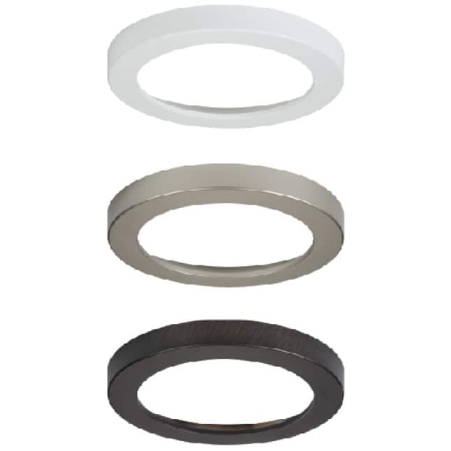 Designer trims available for HALO SMD fixtures only.