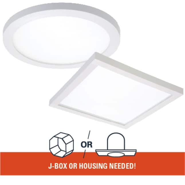 The SMD is perfect for new construction, remodel and retrofit.