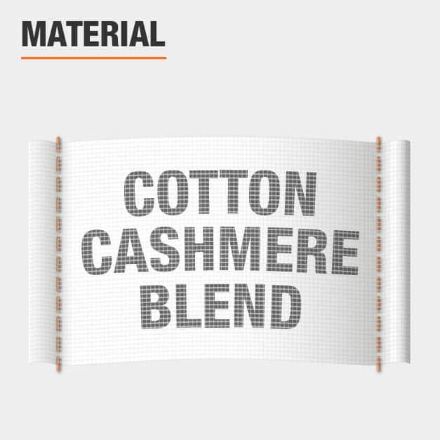 Cotton Cashmere Blend