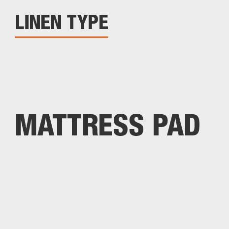 Linen Type Mattress Pad