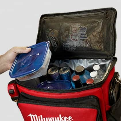 Safely carry food, beverages, & personal items