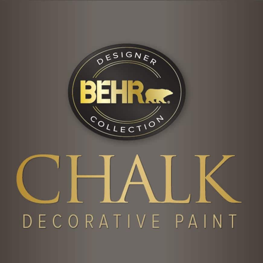 BEHR CHALK DECORATIVE PAINT Logo