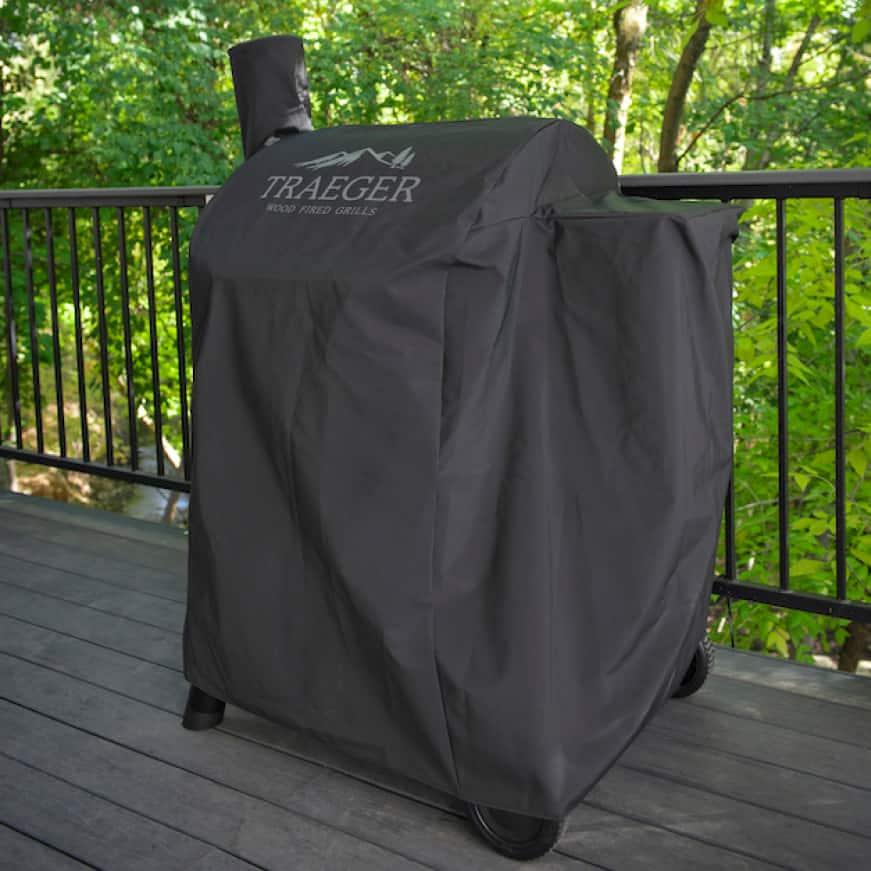 Traeger Pellet Grills - Custom-Fit Cover Construction